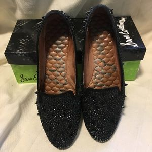 Sam Edelman black studded loafer